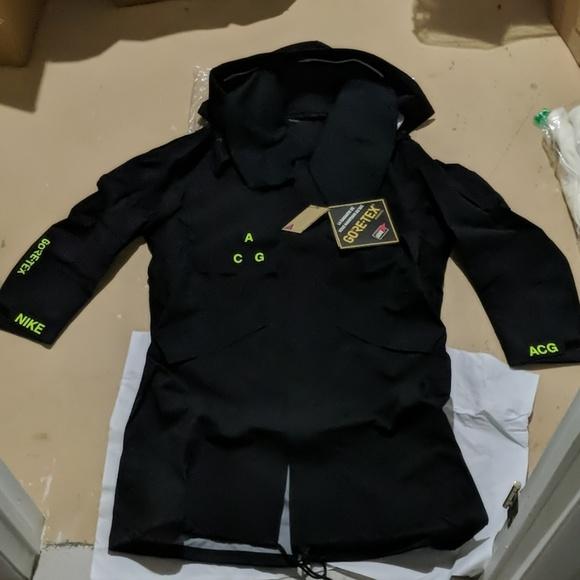 NikeLab ACG GORE TEX® Men's Jacket Green | Mens jackets